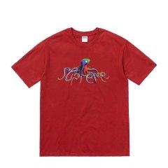 Supreme 18ss Tentacles Tee 章鱼 八爪鱼 Logo 短袖 T恤图片