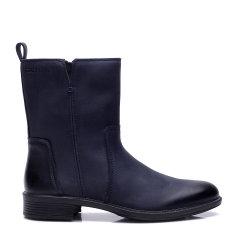 COZY STEPS/COZY STEPS打蜡牛皮光面马丁靴女士靴子图片