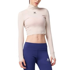 美国HOTSUIT运动上衣女2018秋季新款透气紧身衣女长袖健身上衣图片
