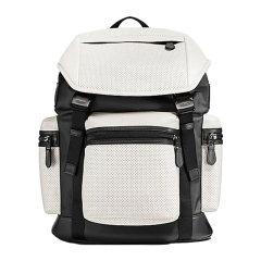 【包税】COACH/蔻驰 男士休闲大容量皮革背包 双肩包 F22239#图片