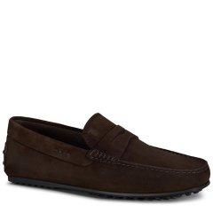 Tod's/托德斯男士男士乐福鞋City系列小牛皮豆豆乐福鞋图片