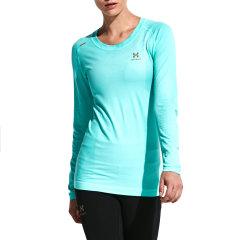 后秀/HOTSUIT女款长袖T恤女运动服跑步透气健身速干瑜伽训练上衣66094003图片