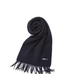 乐上LEXON法国秋冬季加厚男士水波纹纯山羊绒围巾纯色加厚保暖长款图片