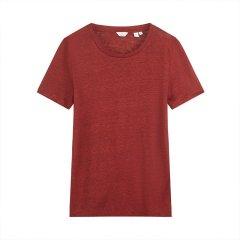 GANT/甘特 2018夏新款圆领套头女士短袖T恤 4207024图片