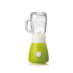 Recolte/丽克特 日本智能小家电 迷你复古果汁机 多功能榨汁机 双杯版  镀钛不锈钢搅拌刀图片