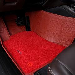 NATU 汽车鳄鱼纹真皮脚垫  全包围双层 奔驰 宝马  奥迪 玛莎拉蒂  雷克萨斯 真皮脚垫图片
