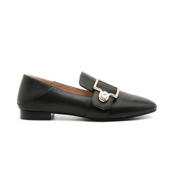 DK UGG/DK UGG  女士休闲运动鞋 VIVIER 小羊皮 简约珍珠搭扣踩跟乐福鞋图片