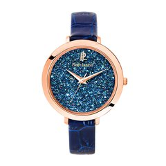 Pierre Lannier/连尼亚 法国原装进口星钻系列皮质表带女士石英手表图片