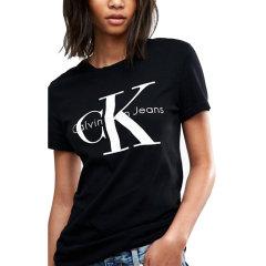 【包税】Calvin Klein/卡尔文·克莱因  CK女士圆领百搭短袖T恤 42MK976图片