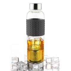 加拿大爱斯堡Asobu耐热玻璃水杯IT2GO 400mL图片