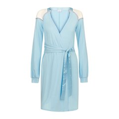 LA PERLA/萝贝拉 女睡衣/家居服 女士FLOWERSTONE系列 时尚露肩刺绣短款睡袍图片