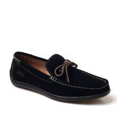 Ozwear ugg/Ozwear ugg  男士乐福鞋 猪巴革 皮绳装饰男士单豆豆鞋图片
