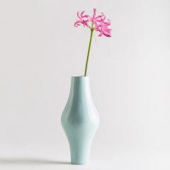 KANJIAN·Life/看见民生 看见·秋瓷花瓶 粉绿 骨瓷图片