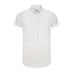 Dolce&Gabbana/杜嘉班纳男士短袖衬衫-男士时尚短休闲衬衫72棉25锦纶3氨纶图片