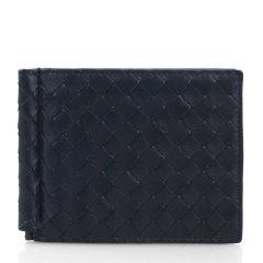 Bottega veneta 宝缇嘉  男士牛皮编织短款钱包钱夹图片