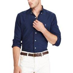 【经典款】Ralph Lauren/拉夫劳伦  经典纯色常规商务休闲男士长袖衬衫 3561-9107图片