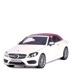 奔驰C200敞篷跑车合金仿真汽车模型摆件礼品图片