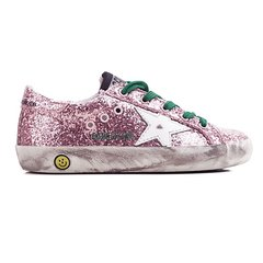GOLDEN GOOSE/GOLDEN GOOSE 女童磨损效果橡胶底休闲运动鞋(小脏鞋) G30KS301图片