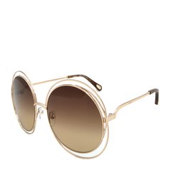 【2018新品】CHLOE/克洛伊 蔻依女款眼镜大框圆形时尚多色渐变墨镜太阳镜 CE114SD图片