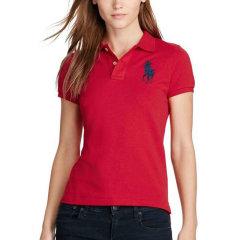 【免税】Ralph Lauren/拉夫劳伦  女士大马标纯色短袖Polo衫  4473-0041图片
