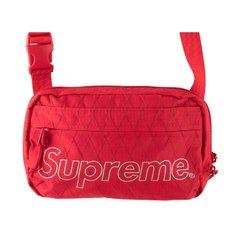 Supreme SHOULDER BAG 经典logo单肩包 FW18B10图片