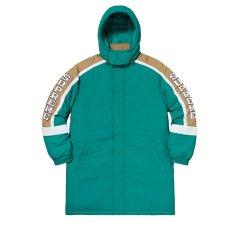 Supreme/Supreme  Supreme Sleeve Logo Sideline Parka 帽子可拆卸 男士运动大衣图片