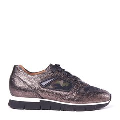 SANTONI/圣东尼 女士两篇牛皮运动鞋 WBHY60092BNEEMLYG60图片