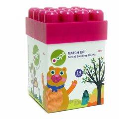 瑞士Oops大颗粒塑料积木 彩盒玩具 益智拼插 多功能收纳盒玩具图片