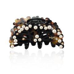 【Designer Jewelry】Cherry Chau/Cherry Chau春雨树枝系列手工灰色抓夹图片