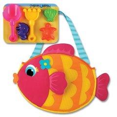 Stephen Joseph  美国小史蒂芬 儿童沙滩包 含沙滩玩具套装图片