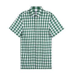 PRADA/普拉达 经典格子男士短袖衬衫 UCS213ZKE图片