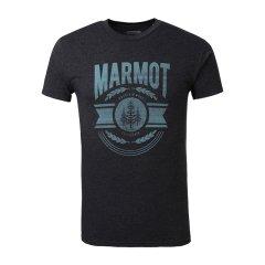 MARMOT/土拨鼠男款圆领舒适棉短袖T恤  F900455图片