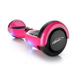 阿斯顿威尔 两轮体感电动扭扭车 成人智能思维代步车 儿童双轮平衡车 粉色图片