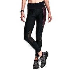 后秀/HOTSUIT 17年运动裤女士弹力紧身长裤跑步瑜伽健身训练压缩裤 66092300图片