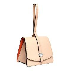 【包邮包税】Moynat/Moynat 19新款MADELEINE女士荔枝纹牛皮翻盖手提包 (3色可选)图片