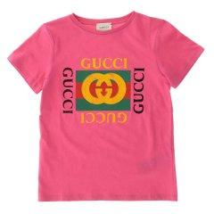 GUCCI/古驰 19年春夏 服装 男童 儿童T恤 475740X3G17图片