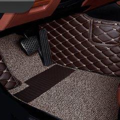 QUEES/乔氏 全包围皮革丝圈汽车脚垫 双层多用 车型专车定制图片