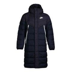 Nike耐克男装 2018冬季新款运动外套防风保暖连帽长款过膝羽绒服AA8854图片