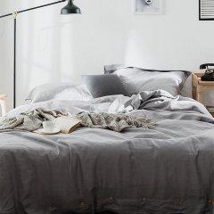 GeleiStory/GeleiStory回归系列家的本质亚麻春夏四件套 被罩床罩被单枕套4件 店铺特惠套 换季特惠图片