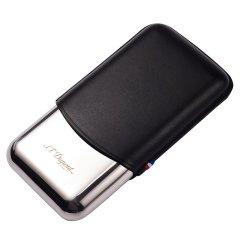S.T.Dupont法国都彭 三支装雪茄盒 便携式烟盒雪茄筒183020/183023图片