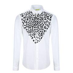 2017年秋冬新品 VERSACE JEANS/范思哲牛仔 男士长袖衬衫 100.00%棉 B1GQB616-24350图片