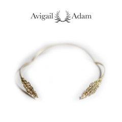 Avigail Adam美国纽约手工制造艺术风格首饰品牌女式Marquis系列橄榄型女神发箍Marquis Goddess Headband图片