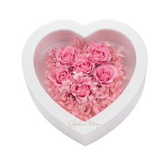 GeleiStory/GeleiStory永生花系列情人节心形礼盒永进口生花流星花园系列情人节礼物 年货节 店铺特惠图片