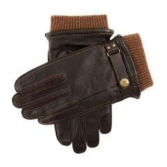 Dents/Penrith 男士保暖羊皮手套 搭配Dents古铜色纽扣 皮质细腻柔软图片