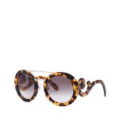 PRADA/普拉达祥云款墨镜 SPR13S 女款圆框时尚浮云太阳眼镜图片