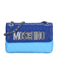 MOSCHINO/莫斯奇诺 女士菱格链条单肩包 7431图片