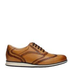 QUARVIF/QUARVIF 牛皮革材胶粘工艺系带时尚休闲鞋 QMB71575图片