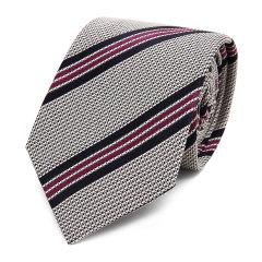 HUGO BOSS/雨果波士领带-男士黑牌领带面料:100桑蚕丝里料:100铜氨纤图片