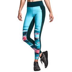 后秀/HOTSUIT 17年紧身裤女弹力运动裤跑步训练健身裤 66094300图片