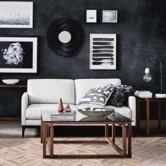 DOWNESSA南卡系列 设计师原创毛皮拼接地毯图片